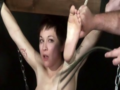 japanese flogging of mei mara in paddling and