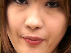 hot japanese girls spit in a glass and...