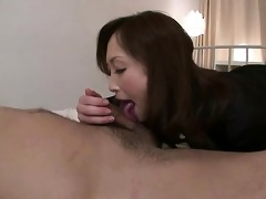 slutty miyama ranko gives her chap a tongue