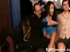 hawt oriental in threesome jizz flow finale