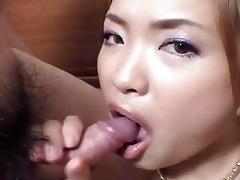 hawt asian wench in hardcore group fuck!