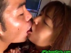cute oriental schoolgirl drilled hard part6
