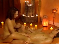 arousing carnal pleasures with lingam massage