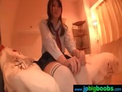 slutty big juggs japanese girl receive screwed
