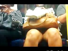 public transport upskirt - desi lady indian desi