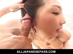 hatsumi kudo is one talented wang sucker
