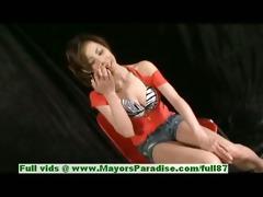 natsumi mits blameless pleasing chinese angel