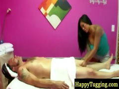 real oriental masseuse indulging client