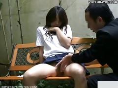 schoolgirl bench drilled