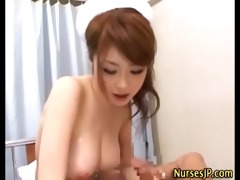 busty wicked nurse blows