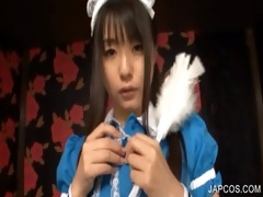 japanese maiden shows miniature love muffins