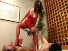 fierce mistress humiliates, dominates and whips