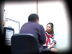 shoplifting schoolgirl pays with sex