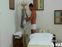 erotic massage ends with a sexy shower fuck