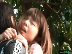 cute hawt japanese angel have sex in wild places