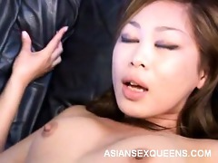 cute oriental does anal