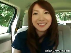 cute asian chick sucks weiner part4