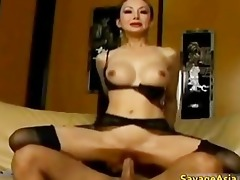 breasty oriental bimbo receives wet crack licked