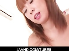 redhead oriental honey asuka in constricted pink