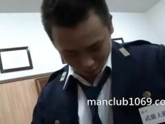the police and the oriental chap
