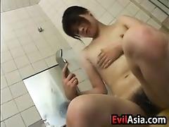 enjoyable oriental angel getting fingered