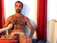 an handsome arab lad receives wanked his hard