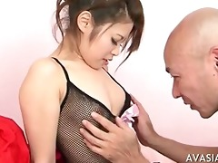mature chap seduces juvenile oriental schoolgirl