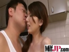 breasty asians milfs receives group-fucked really
