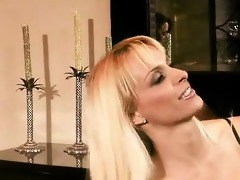 experienced blond mother i holly halston has a