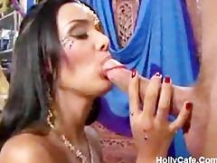 glamorous indian brazilian a-hole