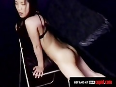 oriental copulates a cameraman and takes his cum