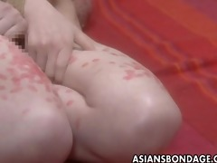 luscious oriental babe in a perverted thraldom