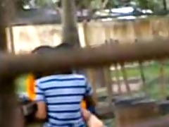 boso fucking in the park