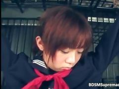cute oriental cutie is tortured by smutty part4