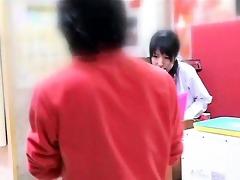 sinless waitress groped to big o in an arcade