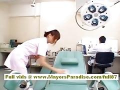 akiho yoshizawa hawt oriental nurse enjoys