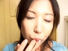 hawt japanese wench sucks ramrod like eager part1