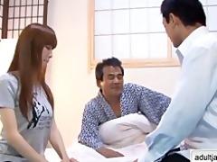 hawt slender japanese yui igawa nursing