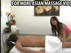 oriental masseuse sees his vertical wang