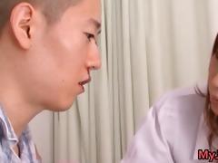 akina ravishing sexy oriental nurse