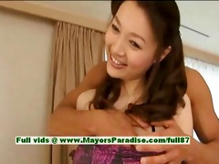 mai uzuki virginal cute oriental babe receives
