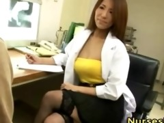 lewd japanese playgirl acquires medical