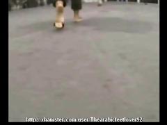 candid arabic feet 40