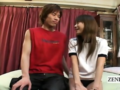 subtitled japanese dilettante interview foreplay