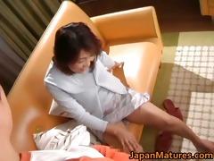 lustful japanese aged honeys engulfing