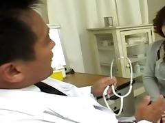 asian doctor and oriental chocolate hole