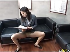 azhotporn.com - oriental gal loaded with male