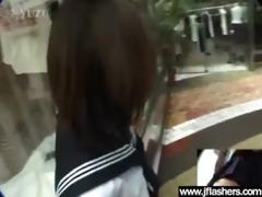 oriental floozy angel receive screwed after flash