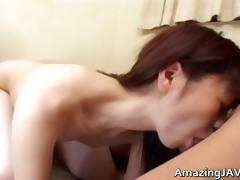 petite oriental schoolgirl engulfing penis part1
