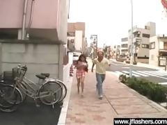 oriental bitch cutie get drilled after flash body